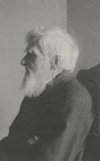 Alfred Russel Wallace, by Florence Chant - NPG x5120