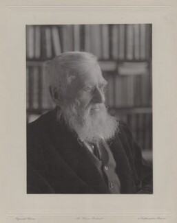 Alfred Russel Wallace, by Reginald Haines - NPG x5121