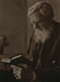 Alfred Russel Wallace, by E.O. Hoppé - NPG x5122