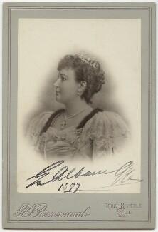 Emma Albani, by P.F. Pinsonneault - NPG x5152