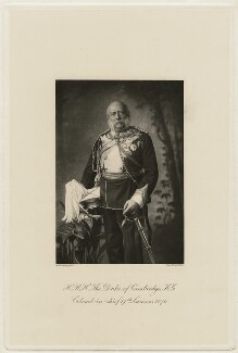 Prince George William Frederick Charles, 2nd Duke of Cambridge, by W. & D. Downey - NPG x5184