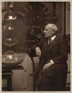 Sir James Dewar, by Olive Edis - NPG x5198