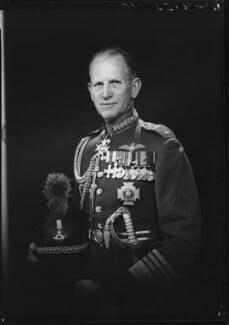 Sir John Wakeling Baker, by Lenare - NPG x5245