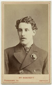 Sir Squire Bancroft (né Butterfield), by London Stereoscopic & Photographic Company - NPG x550