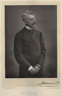 Sir Squire Bancroft Bancroft (né Butterfield), by Walery, published by  Sampson Low & Co - NPG x552