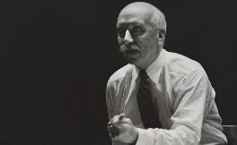 Sir Adrian Boult, by Laelia Goehr - NPG x5593