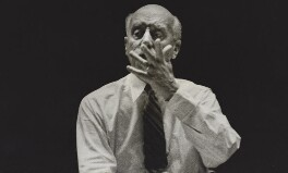 Sir Adrian Boult, by Laelia Goehr - NPG x5596