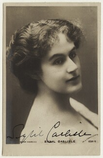 Sybil Carlisle, by Lizzie Caswall Smith, published by  Rotary Photographic Co Ltd - NPG x5640