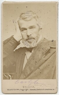 Thomas Carlyle, by Elliott & Fry - NPG x5656