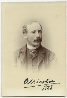 Arthur Nicolson, 1st Baron Carnock, by Unknown photographer - NPG x5671