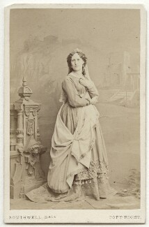 Caroline Carson as Adriana in 'The Comedy of Errors', by Southwell Brothers, 1864 - NPG  - © National Portrait Gallery, London