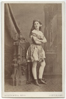 Kate Carson as The Slave of the Lamp in 'Aladdin', by Southwell Brothers - NPG x5686