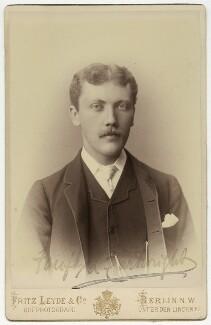 Sir Fairfax Leighton Cartwright, by Fritz Leyde & Co - NPG x5695