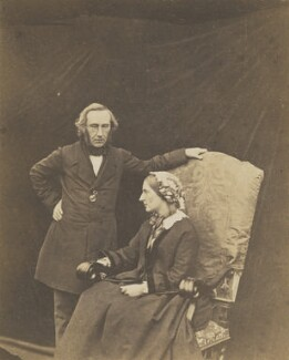 The Earl and Countess of Crawford and Balcarres, by Thomas Rodger - NPG x5712