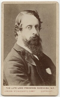 Lord Frederick Charles Cavendish, by London Stereoscopic & Photographic Company - NPG x5717