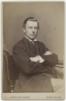 Joe Chamberlain, by Henry Joseph Whitlock - NPG x5746