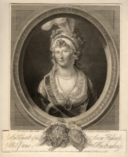 Charlotte Augusta Matilda, Princess Royal, by Anker Smith - NPG D10838