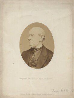 Charles Francis Adams Sr, by John Jabez Edwin Mayall, published by  A. Marion, Son & Co, 1860s - NPG x5776 - © National Portrait Gallery, London
