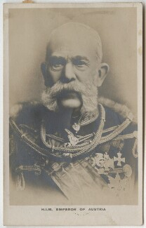 Francis Joseph I, Emperor of Austria, by Unknown photographer - NPG x5813