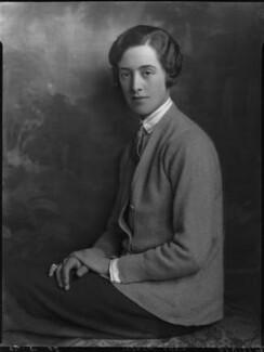 Olga Marie Munro (née Grumler), Lady Alness, by Lafayette (Lafayette Ltd), 20 May 1926 - NPG x59019 - © National Portrait Gallery, London