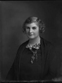 Clara Denman (née Jopp), Lady Cheatle, by Lafayette - NPG x59195