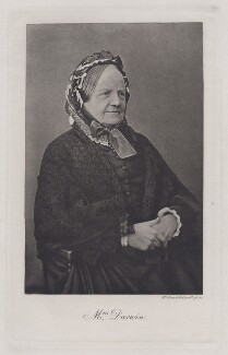 Emma Darwin (née Wedgwood), by Unknown photographer, 1880s - NPG x5941 - © National Portrait Gallery, London