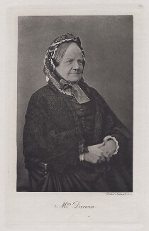 Emma Darwin (née Wedgwood), by Unknown photographer, 1880s - NPG x5942 - © National Portrait Gallery, London