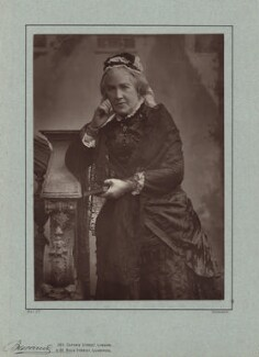 Catherine Gladstone (née Glynne), by Herbert Rose Barraud, published by  Richard Bentley & Son - NPG x5974