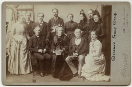 Gladstone Family Group, by Herbert Rose Barraud, 1870s-1900s - NPG x5979 - © National Portrait Gallery, London
