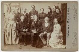 Gladstone Family Group, by Herbert Rose Barraud, 1870s-1900s - NPG x5979 - © National Portrait Gallery, London