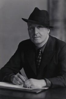 Peter Cheyney (Major Reginald Evelyn Peter Stouthouse-Cheyney), by Elliott & Fry - NPG x5989