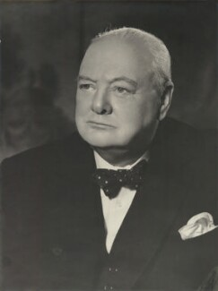 Winston Churchill, by Vivienne - NPG x6039