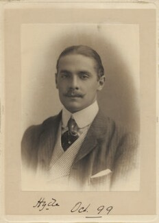 George Herbert Hyde Villiers, 6th Earl of Clarendon, by Unknown photographer - NPG x6079