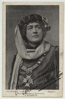 William Clayton (William George Grant) as the Duke of Buckingham in 'Richard III', by (Alexander) Percy Guttenberg - NPG x6094