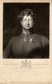 King George IV, by William Say, published by  William Sams, after  Frederick Richard Say - NPG D10843