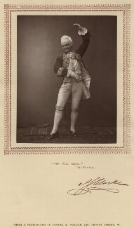 John Sleeper Clarke in 'The Rivals', by Samuel Alexander Walker, published by  Carson & Comerford - NPG x6102