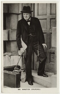 Winston Churchill, by Unknown photographer - NPG x6120
