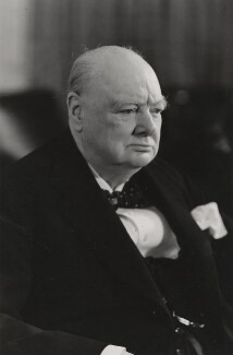 Winston Churchill, by Walter Stoneman - NPG x6133