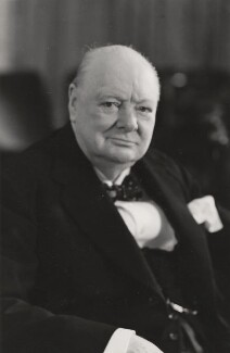 Winston Churchill, by Walter Stoneman - NPG x6134