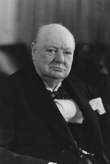 Winston Churchill, by Walter Stoneman - NPG x6135