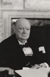Winston Churchill, by Walter Stoneman - NPG x6136