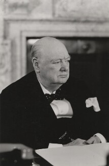 Winston Churchill, by Walter Stoneman - NPG x6137