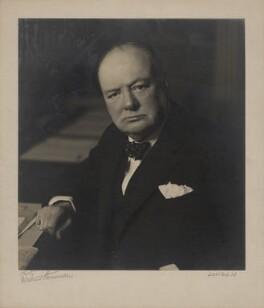 Winston Churchill, by Walter Stoneman - NPG x6138
