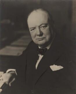 Winston Churchill, by Walter Stoneman - NPG x6139