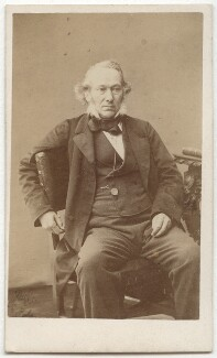 Richard Cobden, by W. & D. Downey - NPG x6187