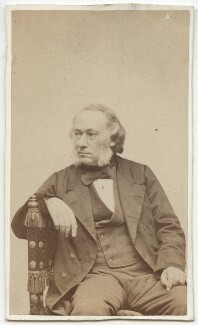 Richard Cobden, by C.A. Duval & Co (Charles Allen Du Val) - NPG x6190