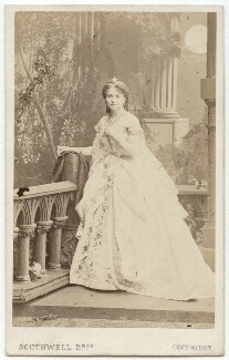 Stella Colas as Juliet in 'Romeo and Juliet', by Southwell Brothers, 1863 - NPG  - © National Portrait Gallery, London