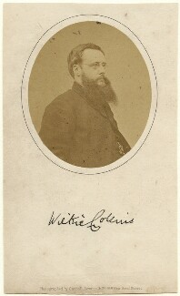 Wilkie Collins, by Cundall, Downes & Co, 1859-1865 - NPG x6322 - © National Portrait Gallery, London