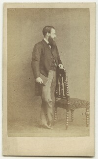 Wilkie Collins, by Herbert Watkins, early 1860s - NPG x6324 - © National Portrait Gallery, London