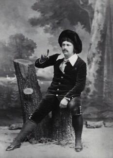 Rutland Barrington (George Rutland Barrington Fleet) as Archibald Grosvenor in 'Patience', by and after Elliott & Fry - NPG x634